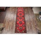 One-of-a-Kind Zanjan Vintage Persian x Hand-Knotted 3'9