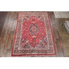 One-of-a-Kind Mashad Persian Hand-Knotted 8'1