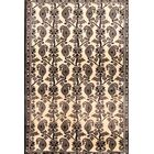 One-of-a-Kind Modern Traditional Gabbeh Persian Hand-Knotted 3'6