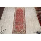 One-of-a-Kind Hossainabad Hamadan Persian Vintage Hand-Knotted 3'11