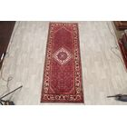 One-of-a-Kind Hamedan Traditional Persian Hand-Knotted 3'10