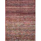 One-of-a-Kind Gabbeh Shiraz Persian Hand-Knotted 3'6