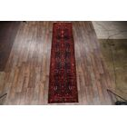 One-of-a-Kind Lilian Floral Hamadan Persian Hand-Knotted 3'4