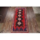 One-of-a-Kind Shiraz Persian Geometric Hand-Knotted 5'8