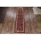 One-of-a-Kind Classical Hamedan Genuine Persian Hand-Knotted 3'4