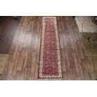 One-of-a-Kind Traditional Hamedan Persian Hand-Knotted 3'6