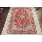 One-of-a-Kind Traditional Kashan Persian Vintage Hand-Knotted 9'10