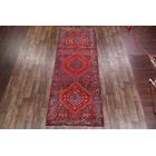 One-of-a-Kind Mullinax Hamedan Classical Persian Hand-Knotted 4'9