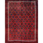 One-of-a-Kind Ghashghaei Traditional Shiraz Persian Hand-Knotted 7'1