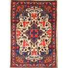 One-of-a-Kind Traditional Bidjar Persian Hand-Knotted 3'4
