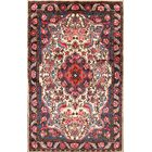 One-of-a-Kind Traditional Bidjar Persian Hand-Knotted 3'5