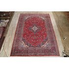 One-of-a-Kind Vintage Traditional Kashan Persian Hand-Knotted 9'9