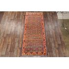 One-of-a-Kind Mahal Persian Vintage Hand-Knotted 4'5