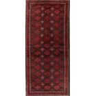One-of-a-Kind Classical Balouch Persian Vintage Hand-Knotted 3'4
