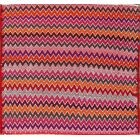 One-of-a-Kind Traditional Kilim Jajim Shiraz Persian Hand-Knotted 2' x 2' Wool Pink/Red/Blue Area Rug