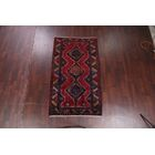 One-of-a-Kind Meagher Classical Persian Hamedan Hand-Knotted 4'3