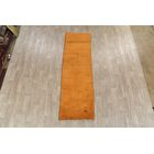 One-of-a-Kind Ovalle Gabbeh Shiraz Persian Modern Hand-Knotted 2'10