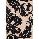 Lula Oushak Agra Oriental Hand-Tufted Wool Beige/Black Area Rug
