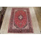 One-of-a-Kind Etienne Kashan Persian Medallion Traditional Hand-Knotted 8'2
