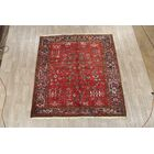 One-of-a-Kind Heriz Persian Hand-Knotted 7'6