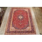 One-of-a-Kind Mcglynn Kashan Vintage Persian Hand-Knotted 9'10