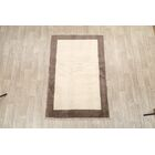 One-of-a-Kind Gabbeh Shiraz Persian Modern Hand-Knotted 4' x 6'3