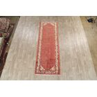 One-of-a-Kind Freitas All Over Geometric Botemir Vintage Persian Hand-Knotted 3'6