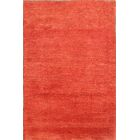 One-of-a-Kind Gabbeh Shiraz Persian Modern Hand-Knotted 3'6