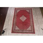 One-of-a-Kind Botemir Persian Geometric Traditional Hand-Knotted 6'10
