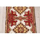 Jalon Rya Oriental Hand-Knotted Wool Red/Brown Area Rug