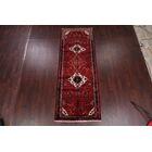 One-of-a-Kind Vintage Hamedan Persian Hand-Knotted 3'7