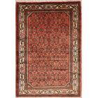 One-of-a-Kind Classical Vintage Hamedan Persian Traditional Hand-Knotted 3'5