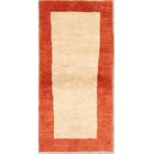 One-of-a-Kind Genuine Zolanvari Shiraz Gabbeh Persian Hand-Knotted 2'11