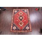 One-of-a-Kind Petro Shiraz Vintage Persian Hand-Knotted 6'11