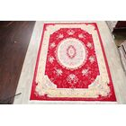 Traditional Floral Tabriz Persian Red/Beige Area Rug