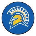 San Jose State University Doormat Mat Size: Round 2'3