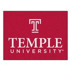 Temple University Doormat Mat Size: Rectangle 2'10