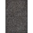 One-of-a-Kind Klahr Hand-Woven Cowhide Black Area Rug Rug Size: Rectangle 9' x 12'