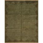 One-of-a-Kind Mcewen Hand-Knotted Wool Green Area Rug