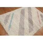 One-of-a-Kind Cazeault Hand-Knotted Wool Beige Area Rug