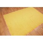 Wick St Lawrence Yellow Area Rug