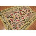 One-of-a-Kind Huynh Hand-Knotted Wool Mustard Area Rug