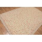 One-of-a-Kind Pucklechurch Hand-Knotted Wool Beige/Brown Area Rug