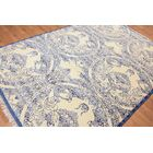 One-of-a-Kind Hedley Hand-Knotted Wool Blue/Beige Area Rug