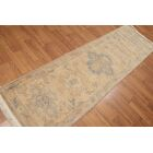 One-of-a-Kind Helvic Hand-Knotted Wool Beige Area Rug