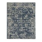 Barbican Hand-Knotted Blue Area Rug Rug Size: Rectangle 8' x 10'