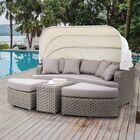 Overbeck Patio Daybed with Cushion