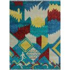 One-of-a-Kind Millender Aba Hand-Knotted Wool Blue Area Rug