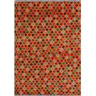One-of-a-Kind Millender Marin Hand-Knotted Wool Orange Are Rug