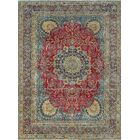 One-of-a-Kind Millner Distressed Femi Hand-Knotted Wool Red Are Rug